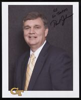 Paul Johnson Signed 8x10 Photo College NCAA Basketball Coach Autographed