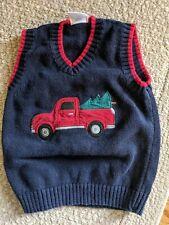 3t Christmas Truck W Tree Wagon Best Sweater Adorable Boy Top Shirt