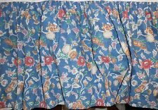 Full size Bed Skirt in Jardin by Ralph Lauren Floral on Blue ground
