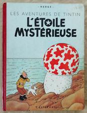 Tintin L'Etoile Mystérieuse HERGE éd Casterman rééd B5 1951
