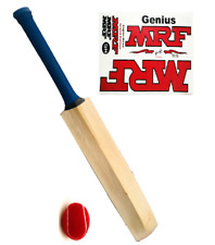HALLOWEEN  CRICKET BAT BIG 43 mm EDGES SAME (GM, MRF)+FREE HARD TENNIS BALL