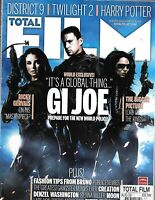 Total Film Magazine G.I. Joe District 9 Twilight Harry Potter Ricky Gervais 2009