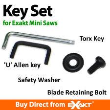 Exakt Saw Accessory   Key Set, Bolt & Safety Washer for EC saws