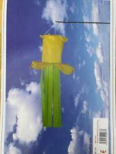 More details for daffodil garden windsock with stick 18x80cm