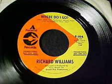 RICHARD WILLIAMS~1969 SWEET SOUL FUNK PROMO 45 on FORWARD Hair Related HEAR