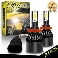 H1 LED Headlight Kit 800W 120000LM 6500K With Cooling Fan Directly Plug&Play
