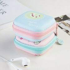 Lady Mini Earphone Storage Bag Lovely Headphone Holder Earbuds Pouch Coin Purse