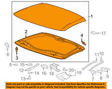 Chevrolet GM OEM 14-16 Corvette-Roof 23246159