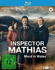 INSPECTOR MATHIAS-MORD IN WALES STAFFEL 2  2 BLU-RAY NEU R.HARRINGTON/M.HARRIES
