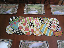 MacKenzie Childs Beaded Table Runner Bittersweet Collection *NIP