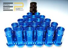 Steel Tuner JDM Lug Nuts Stahl Radmuttern M12 x 1.5 Blau