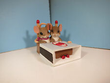Charming Tails Mice-We're A Hot Match- Mouse Figurine-New
