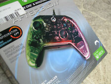 MICROSOFT XBOX ONE / WINDOWS AFTERGLOW PDP Prismatic Wired Controller OVP B-WARE
