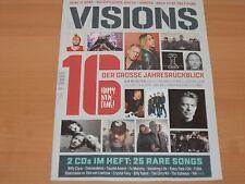 VISIONS 2016 DER GROSSE JAHRESRÜCKBLICK + CDs Ausgabe 01/2017 1A!