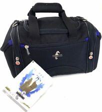 Atlantic Black Expandable Crossbody Adjustable Srap Carry On Travel Tote