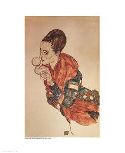 Marga Boerna - Egon Schiele - Fine Art Giclee Print (40 x 50)