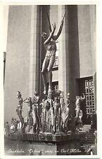 Stockholm, Orfeus staty av Carl Milles, um 1940