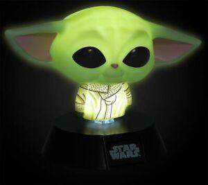 Star Wars The Mandalorian - Grogu Unisex Tischlampe multicolor
