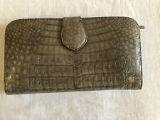 RINKEL Crocodile Women's Wallet   Gray