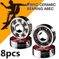 608Hybrid Ceramic Bearing ABEC 9Inline Skate Bearings Skate Skateboard Longboard