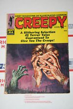 Vintage Creepy Magazine Issues #24! Monteiro Cover! VG+