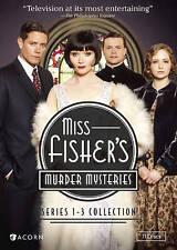Miss Fishers Murder Mysteries: Series 1-3 (DVD, 2016)