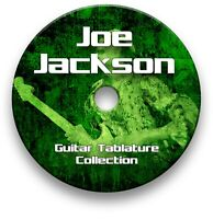 JOE JACKSON ROCK GUITAR TABS TABLATURE SONG BOOK TUITION SOFTWARE CD