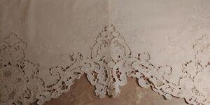 Lace White Curtains Drapes Valances For Sale Ebay