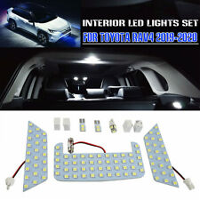 Car LED Light Bulb Interior Reading White Package Kit For Toyota RAV4 2019 2020