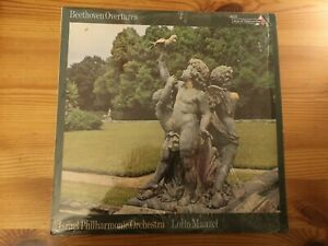 Decca SDD 421. Beethoven Overtures. Lorin Maazel.  NM/NM. Fast Post!!