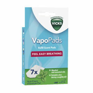 Vicks Comforting Vapopads Refill Scent Pads, Rosemary & Lavender, or Menthol