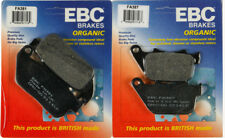 EBC Organic Front & Rear Brake Pads Set - 2004-2013 H-D Sportster XL1200C