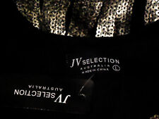 JV SELECTION SequinStripedBodyConsciousPartyMini SizeL NWT