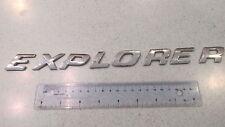 Genuine Ford Explorer Letters  emblem glue on kind FREE SHIPPING