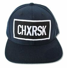 CYPRESS HILL CHXRSK NAVY BLUE HAT NEW OFFICIAL ADULT BAND MUSIC PATCH ADJUSTABLE