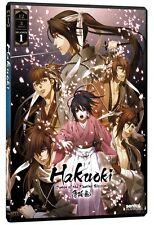 Hakuoki . The Complete Season 1 . All 12 Episodes . Anime . 3 DVD . NEU