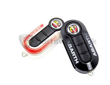 Pair Genuine Fiat Abarth 500 Grande Punto Evo Key Covers 595 Esseesse 5741882