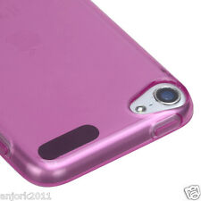 Apple iPod Touch 5 Candy Skin Tpu Gel Cover Case Accessory T Hot Pink