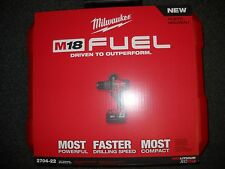 """Milwaukee 2704-22 M18 Cordless Li-Ion 1/2"""" Hammer Drill/Driver Tool Kit XC5.0"""