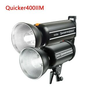 Godox Quicker400IIM High Speed Studio Flash Strobe 400W 2.4G Wireless X System