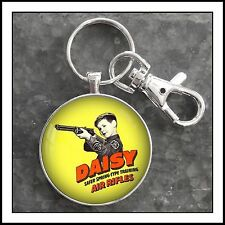 Vintage Daisy B.B. Air Rifle Gun  Ad Advertisement Photo Keychain