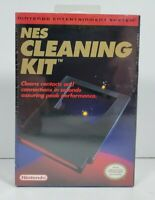 Official Nintendo NES Cleaning Kit 1989 - New, Factory Sealed