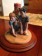 Hallmark Norman Rockwell figurines