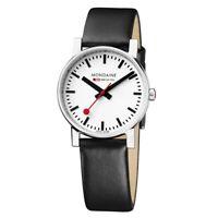 Mondaine A658.30300.11SBB Gent's Evo Black Strap White Dial Watch