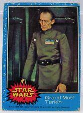 1977 Star Wars Series One Trading Card # 8 Grand Moff Tarkin