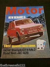 MOTOR MAGAZINE - AC 428 ROAD TEST - SEPT 28 1968