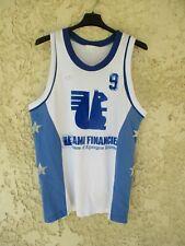 Maillot Basket USSEL B.C porté n°9 ADIDAS vintage Ventex camiseta shirt trikot