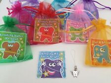 Tooth Fairy Pre Filled Gift Bag, Filler, Present, Teeth, Sticker & Cord Charm