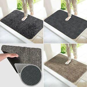 Indoor Outdoor Super Absorbent, Instant Dirt Removal Footwear Magic Doormat