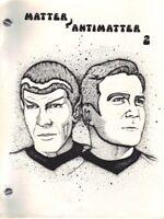 "Star Trek TOS Fanzine ""Matter/Antimatter 2, 3/4, 5, 6"" SLASH K/S"